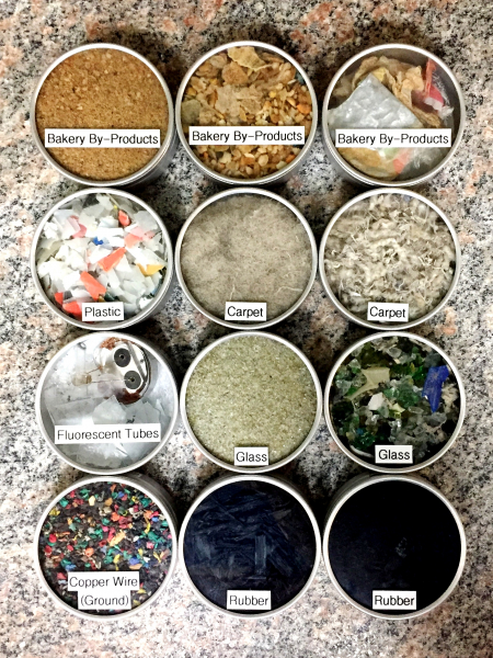 BM&M Recycling Product Samples