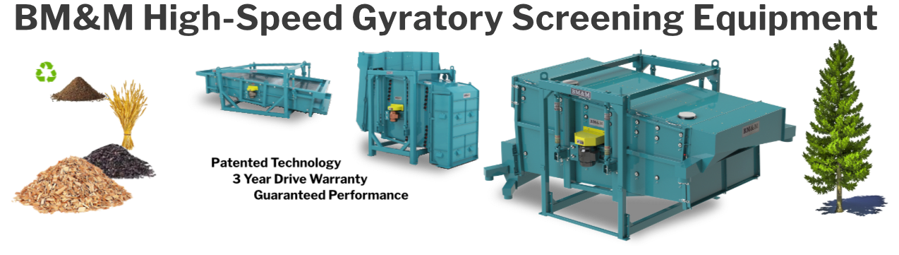Replacement Parts for BM&M Gyratory Screens